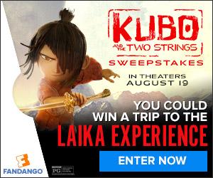 Fandango - Kubo and the Two Strings Sweepstakes