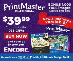 Encore PrintMaster V8