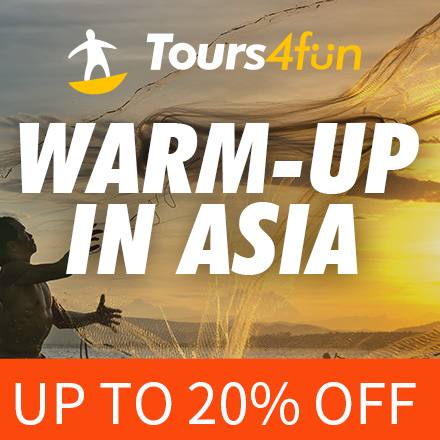 Warm Winter in Asia: up to 20% Off
