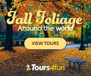 Fall Foliage at Tours4Fun.com