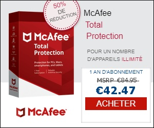 Nouvelle Offre essai téléchargement gratuit  mcafee antivirus