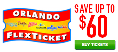 Orlando Flex Ticket Save up to $60!