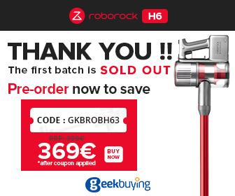 Image for Roborock H6 Deal