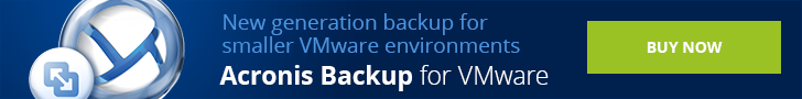Acronis Backup for VMware