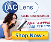 Get Your Next Pair of Reading Glasses at AC Lens Today!