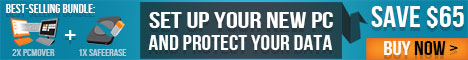 Set up your new PC and protect your data with Laplink's Best Selling Bundle! Save 15% until 6/30/14
