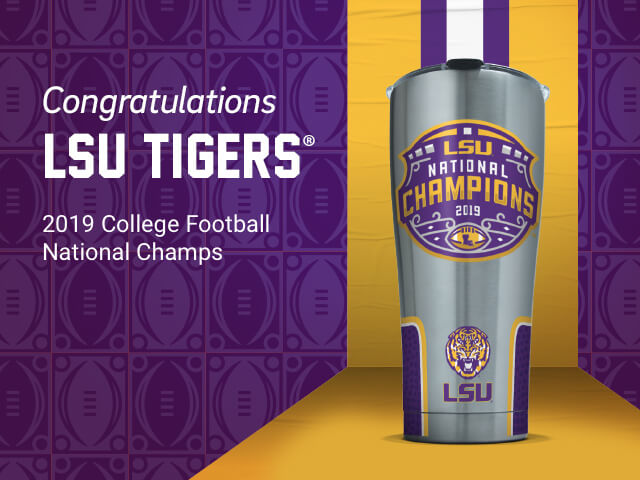 LSU National Champions Licensed Gear!