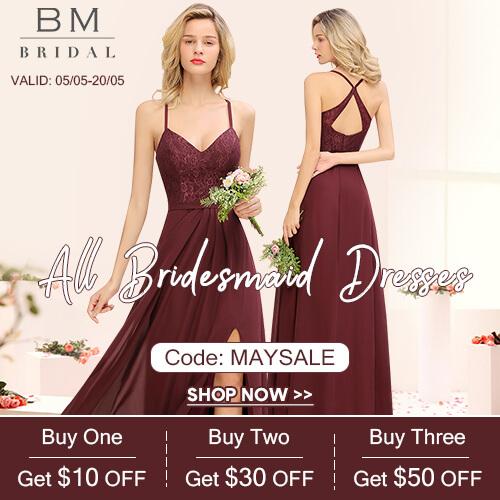 50+ Color Bridesmaid Dresses
