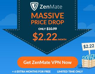 ZenMate VPN Massive Price Drop!