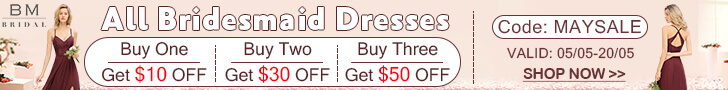 Free Shipping Bridesmaid Dresses