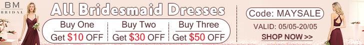 Free Shipping Bridesmaid Dresses