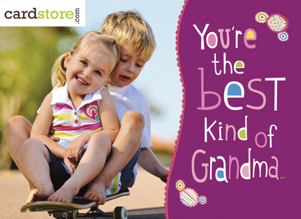 Personalized Mother's Day Cards for Family at Cardstore.com!