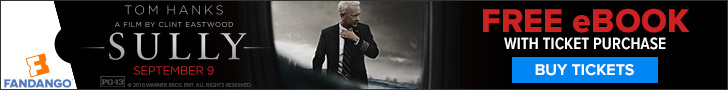 Fandango - Buy tickets to Sully and get the ebook for free