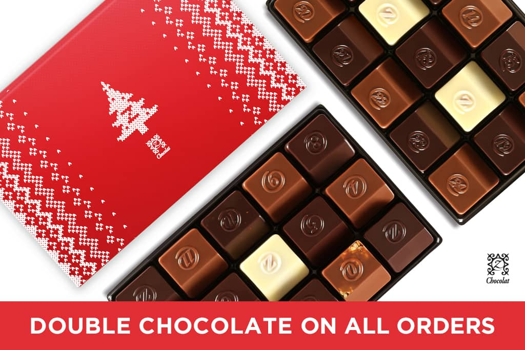 Exceptional French chocolates for Christmas gifts