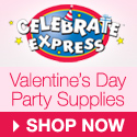 Valentine's Day Party Supplies - 125x125