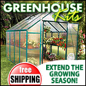 Green House Kits - Easy to set up Free Shipping