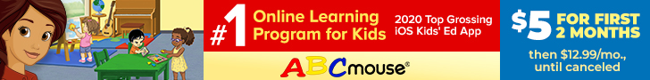 ABCMouse.Com - ABCmouse 2 Months for $5 Sale! 728×90