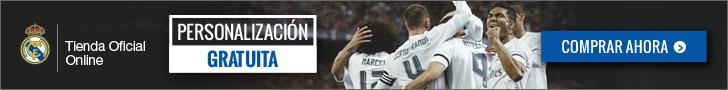 Real Madrid Personalización Gratuita (Espa) 728x90