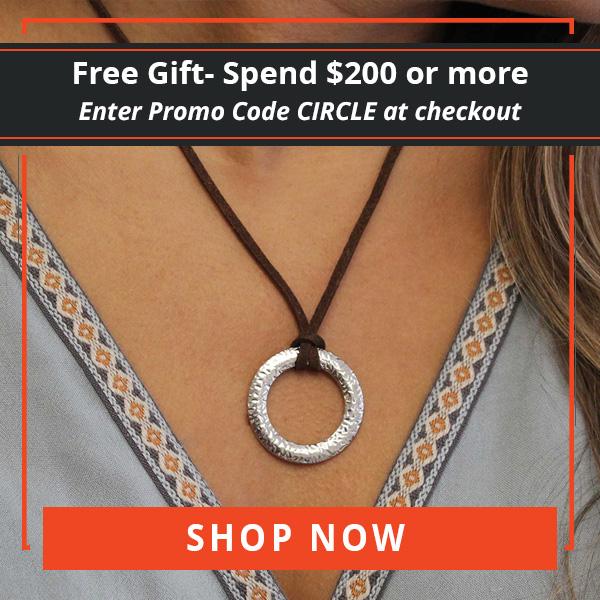 Promo Code Banner, $200 Orders Get Free Circle Of Life Pendant, 600 x 600