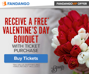 Fandango VIP Offer: Bouqs Valentine's Day