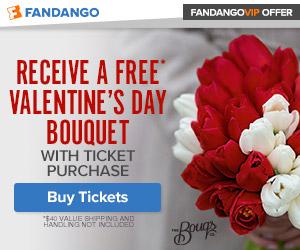 300x250 Fandango VIP Offer: Bouqs Valentine's Day