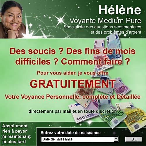 Hélène vous offre votre voyance GRATUITE