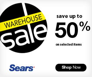 Warehouse Sale at Sears.ca