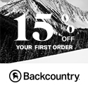Take 15% Off Your First Order at Backcountry.com