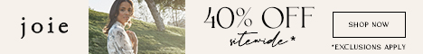 Get 40% Off at Joie with SAVEMORE40!