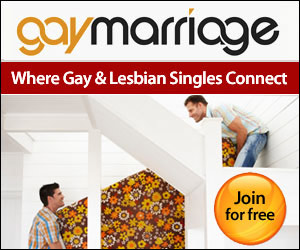 GayMarriage - Where gay and lesbian singles connect