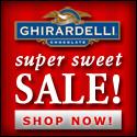 Ghirardelli Chocolate - Super Sweet Sale