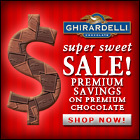 Ghirardelli Chocolate - Super Sweet Sale