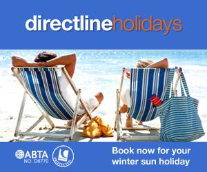 Directline Holidays 300x250