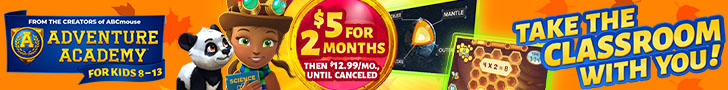 Get 2 Months for $5!