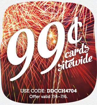 ALL CARDS JUST 99¢! This week...
