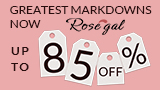 Rosegal Markdowns: Up to 85% OFF! Save more with coupon and FREE SHIPPING