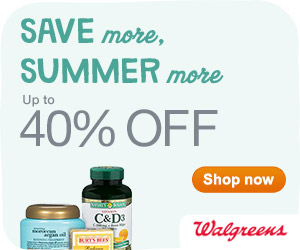 Up to 40% off great brands and products to keep summer going