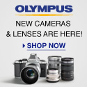 Olympus- New Cameras & Lenses are Here! Shop Now