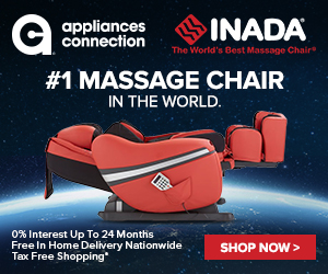 DreamWave Leather Massage Chair with Shiatsu Point Locator, Full Upper Body Massage