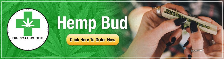 Banner ad with a woman rolling up weed in a joint