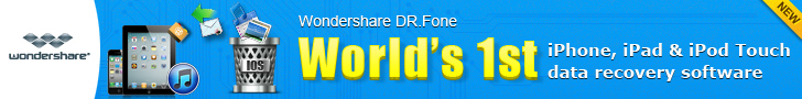 Wondershare Dr.Fone - iDevice Data Recovery