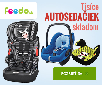 Feedo.sk: Autosedacky