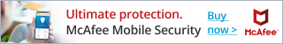 $100 Off McAfee® Total Protection for 10 Devices