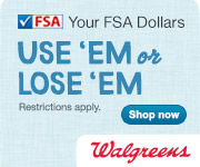 Be Sure to Spend your FSA Dollars!