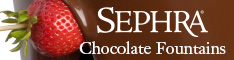 Sephra Chocolate Fountains