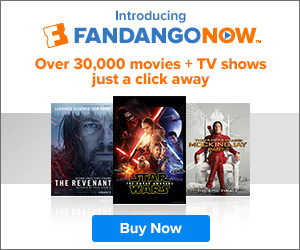 $4 FandangoNOW Credit towards Movie or TV Show Rentals