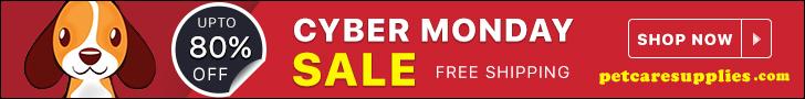 Cyber Monday Sale to Save upto 80% at PetCareSupplies.com