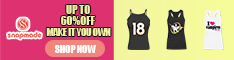 Snapmade 2015 - Custom Clothing up to 60% Off Deals - 234*60