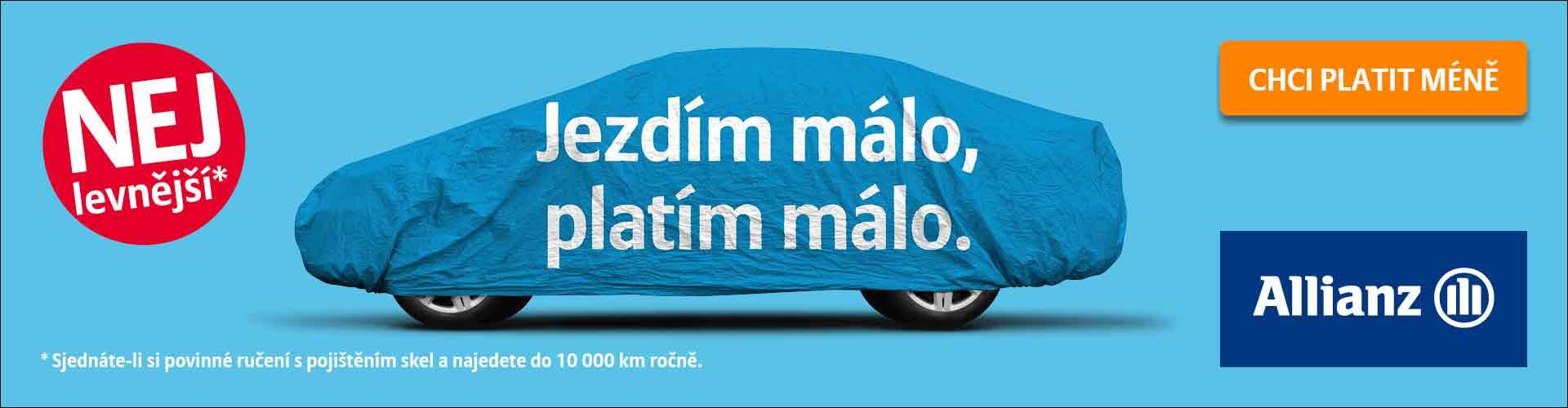 Spočítejte si cenu nového Allianz pojištění online