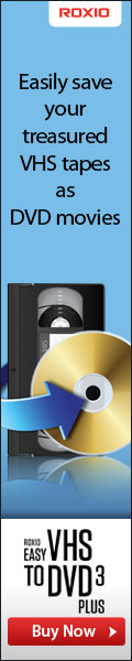 New Roxio Product - Easy VHS to DVD 3 Plus